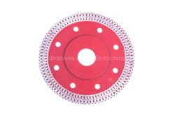 Thin Turbo with Flange Ceramic Cutting Welded Diamond Blade